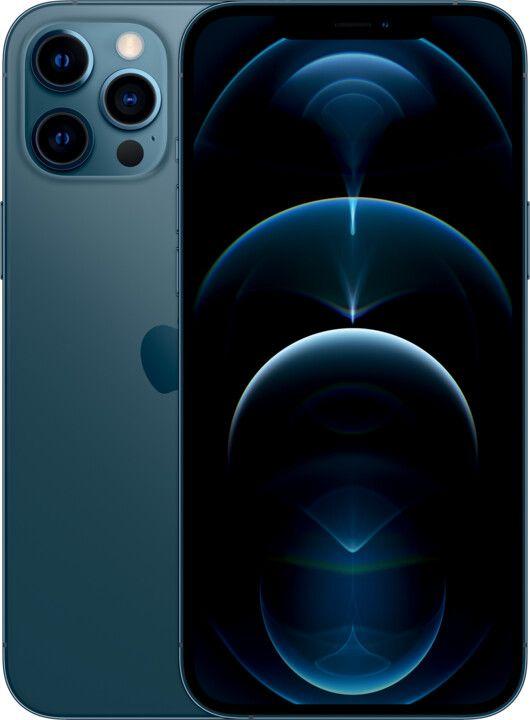 """Слика на Мобилен Apple iPhone 12 Pro Max, 6,7 """"FHD +, 6 GB RAM, 512 GB, сино"""