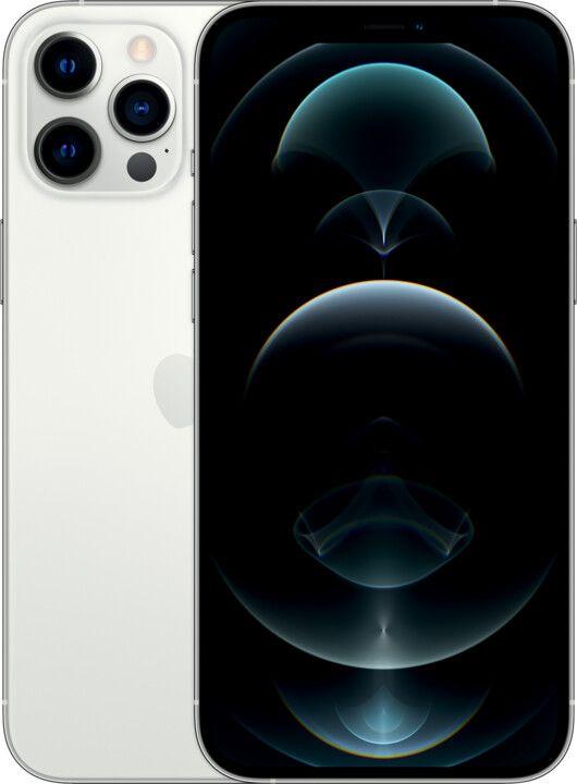 "Слика на Apple iPhone 12 Pro Max, 6,7 ""FHD +, 6 GB RAM, 512 GB, сребро"