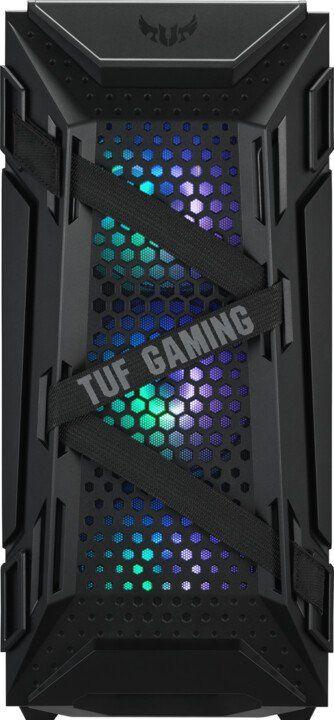 Слика на Компјутер Gjirafa50 Knight GC216 TUF, AMD Ryzen 5, 16GB DDR4, 1TB SSD, ASUS TUF GeForce RTX 3060, црна