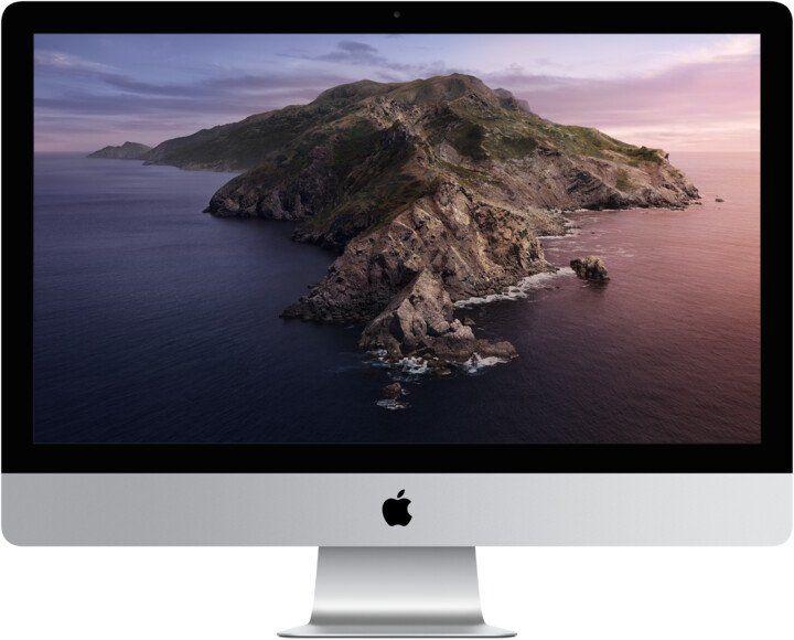 "Слика на Apple iMac 27 5K Retina (2020), 27 ""5K UHD, Intel Core i5, 8 GB RAM DDR4, 256GB SSD, AMD Radeon Pro 5300, сребро"