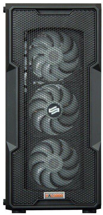 Слика на Компјутер HAL3000 Alfa Gamer Pro 3060, AMD Ryzen 7, 16GB DDR4 3200MHz RAM, 1TB SSD, GIGABYTE GeForce RTX 3060 EAGLE OC, црна