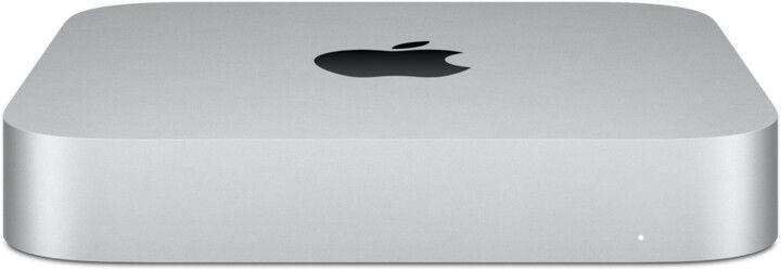 Слика на Apple Mac мини компјутер, M1, 16 GB RAM, 2TB SSD, 8-јадрен графички процесор, Big Sur, сребро (2020)